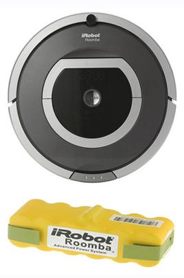 Batterie aspirateur robot roomba
