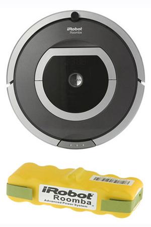 aspirateur robot irobot irobot roomba 780 batterie irobot roomba780 bat darty. Black Bedroom Furniture Sets. Home Design Ideas