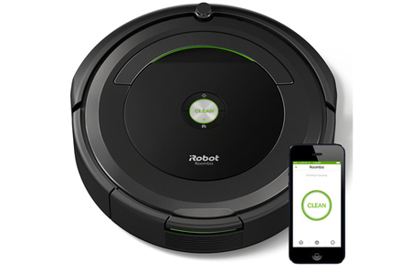 aspirateur robot irobot roomba 696 darty. Black Bedroom Furniture Sets. Home Design Ideas