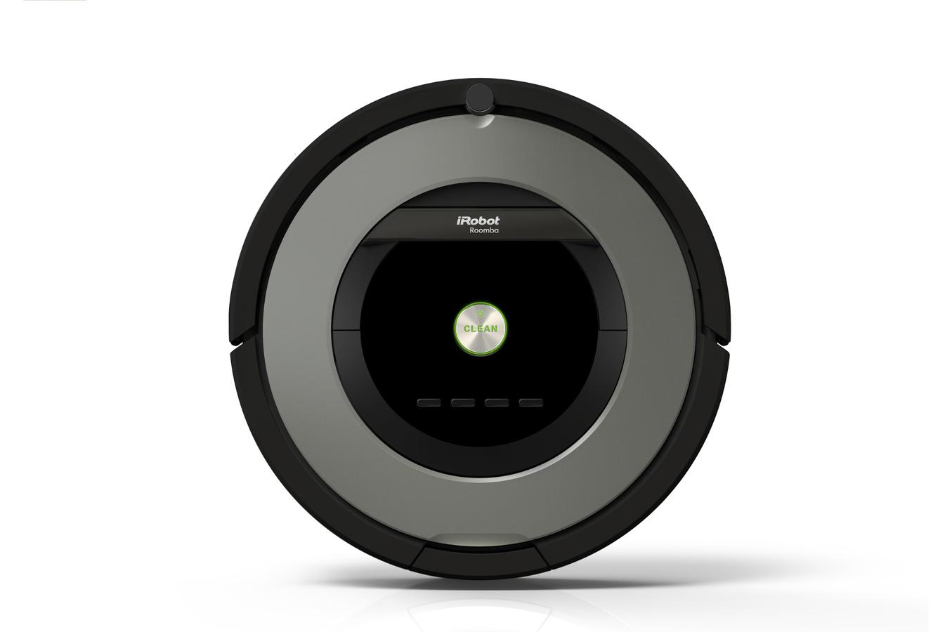 aspirateur robot irobot roomba 866 roomba 866 4149599. Black Bedroom Furniture Sets. Home Design Ideas