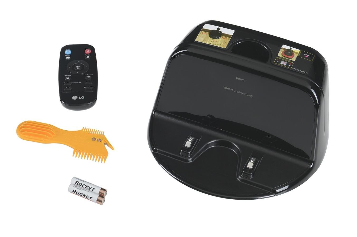 aspirateur robot lg vr7410rb hombot 4041666 darty. Black Bedroom Furniture Sets. Home Design Ideas