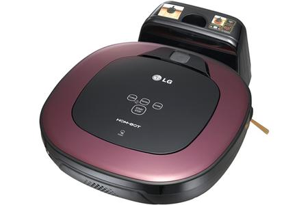 aspirateur robot lg vr6400pb hombot darty. Black Bedroom Furniture Sets. Home Design Ideas
