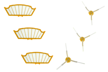 Accessoire aspirateur / cireuse KIT FILTRES & BROSSES ROOMBA SERIE 500 Irobot