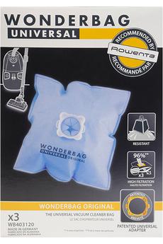 Sac aspirateur SACS WONDERBAG CLASSIC X3 WB403120 Rowenta