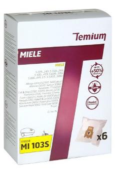 Sac aspirateur MI103S X6 Temium
