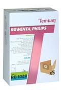 Sac aspirateur Temium RO102P X5