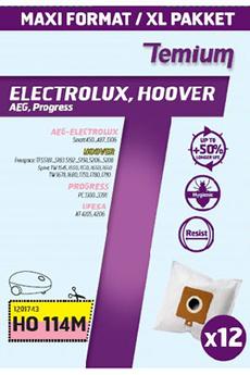 Sac aspirateur SAC HO114M x12 Temium
