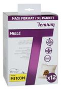 Sac aspirateur Temium MI103M X12