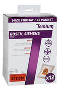 Sac aspirateur Temium SAC SI113M X12