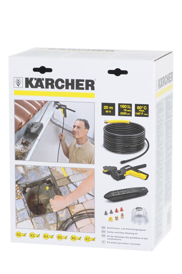 accessoire nettoyeur haute pression karcher kit nettoyage 1341170 darty. Black Bedroom Furniture Sets. Home Design Ideas