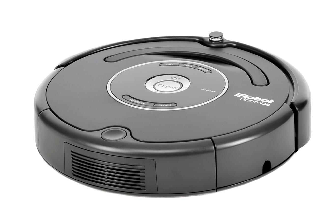 aspirateur robot irobot roomba 581 noir roomba581 3192636 darty