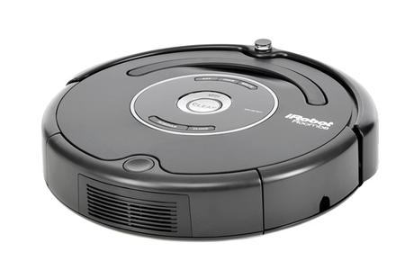 aspirateur robot irobot roomba 581 noir roomba581 darty. Black Bedroom Furniture Sets. Home Design Ideas