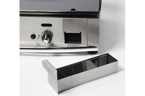 plancha pro roller grill pl 400 gaz 3226425 darty. Black Bedroom Furniture Sets. Home Design Ideas