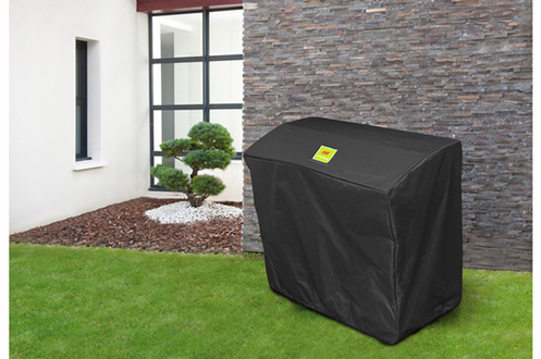 housse pour barbecue plancha le marquier agr51 noir 3421147. Black Bedroom Furniture Sets. Home Design Ideas