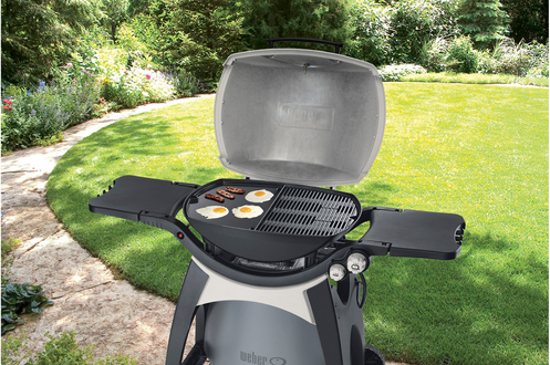 plancha wok pour barbecue weber plancha pour barbecue s rie q300 3280438. Black Bedroom Furniture Sets. Home Design Ideas
