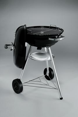 barbecue weber compact kettle 47 cm noir compact kettle 47 cm darty. Black Bedroom Furniture Sets. Home Design Ideas