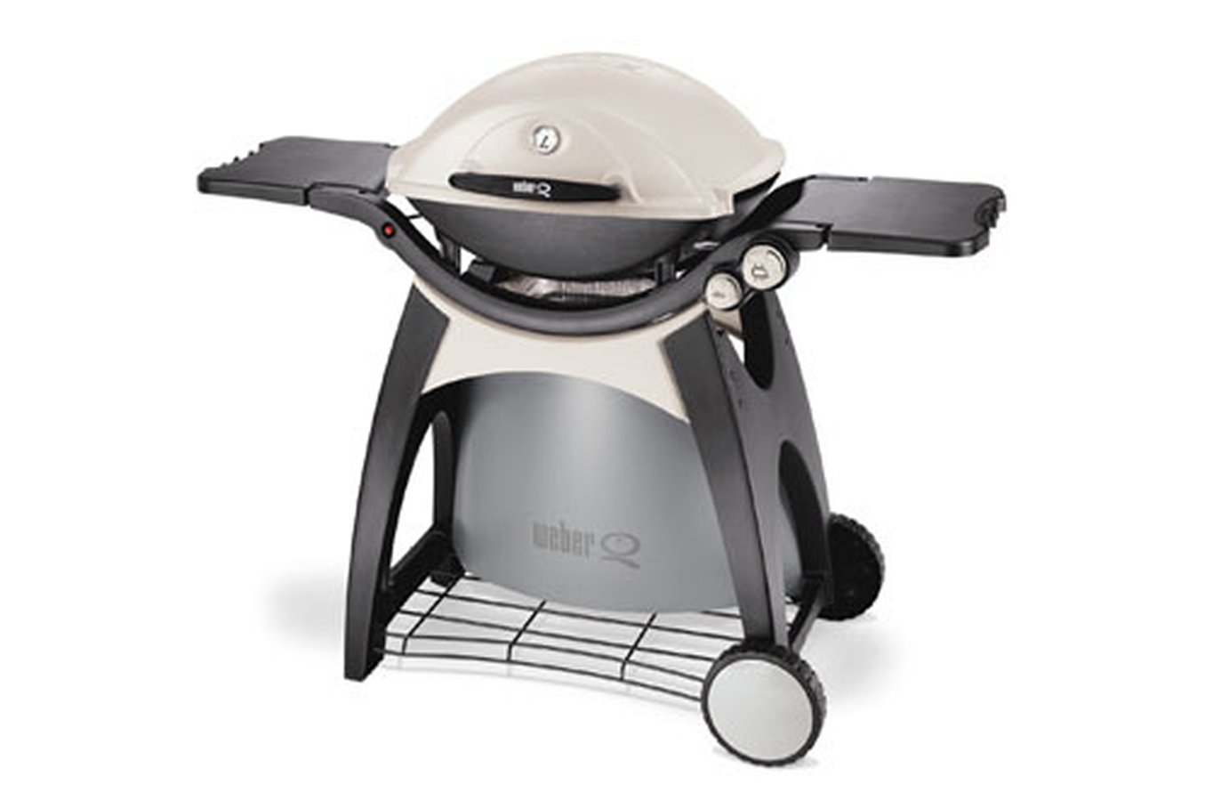 Barbecue americain weber q 300 gaz 3272834 darty for Barbecue weber gaz q120
