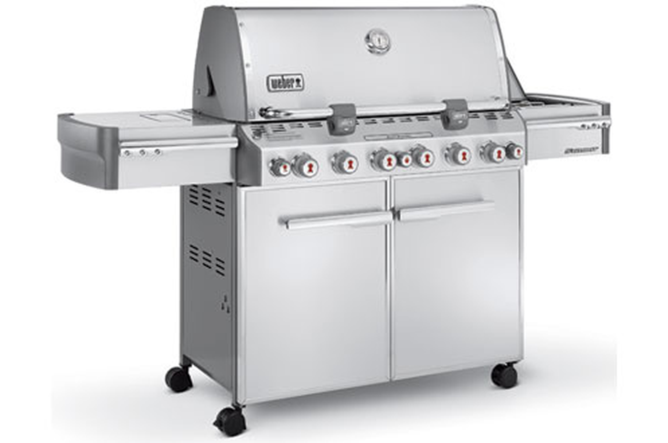 Weber S 660 >> Barbecue americain Weber SUMMIT S670 (3373991) | Darty