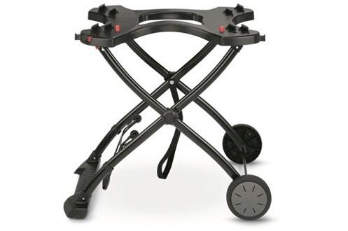 Chariot pliable pour barbecues Weber Q séries 1000 et 2000