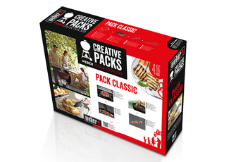 Ustensiles pour barbecue/plancha PACK CLASSIC Weber