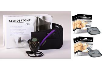 Electrostimulation CEINTURE ABS FEMME + 2 PACK ÉLECTRODES Slendertone