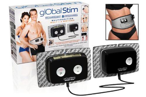 SPORTELEC Sport-Elec Global Stim Electrostimulateur Blanc/Bleu