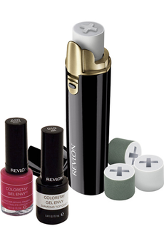 Manucure / pédicure POLISSEUR SHINE ADDICT + 2 VERNIS Revlon