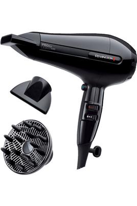 Sèche cheveux moteur AC - Puissance 2200 Watts 2 vitesses / 3 températures - Ionique Technologie céramique tourmaline Inclus : 2 concentrateurs, 1 diffuseur