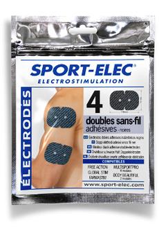 Accessoire électromusculation ELCTRODES EASF110 Sport-elec