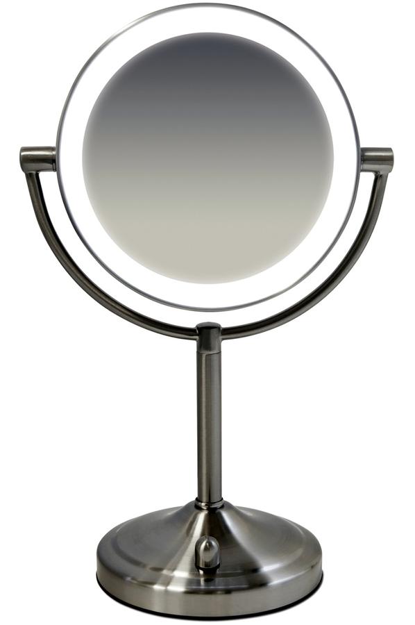 Miroir homedics hm mir 8150 4216270 darty - Petit miroir sur pied ...