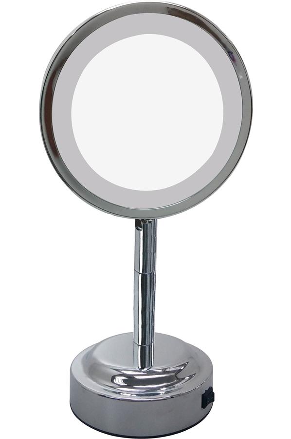 Miroir okoia miroir lumineux lm15 miroir lumineux for Miroir lumineux sur pied