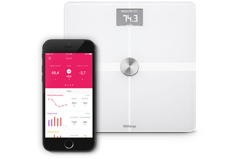 Pese personne PESE PERSONNE CONNECTE BODY BLANC Withings