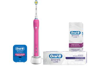 Brosse à dent electrique Beauty Box PRO700 3D White Oral B