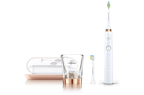 Brosse à dent electrique HX9312/04 SONICARE DIAMOND CLEAN ROSE GOLD Philips