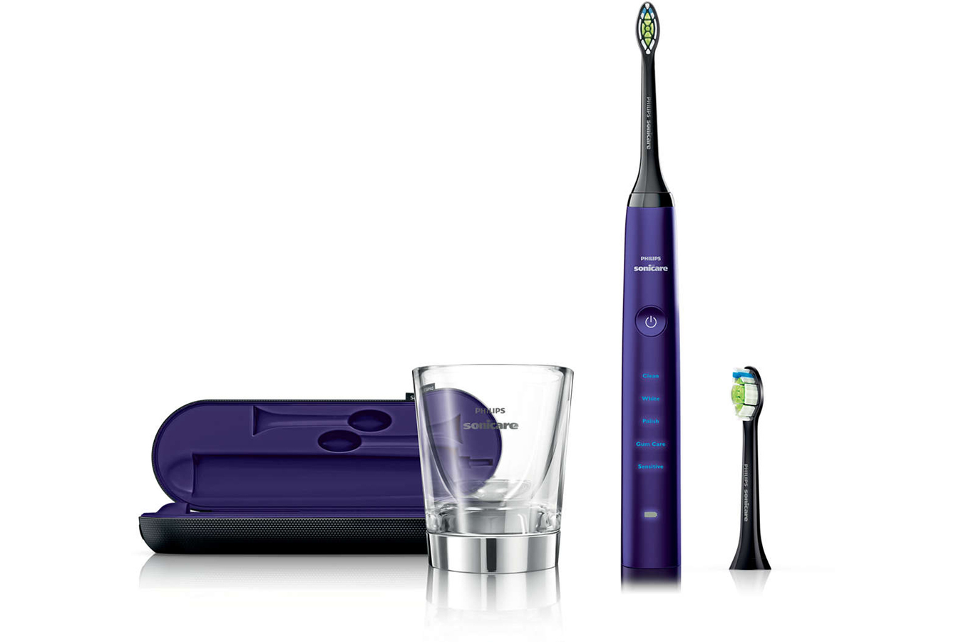 brosse dent electrique philips hx9372 04 sonicare diamondclean am thyste hx9372 04 dc purple. Black Bedroom Furniture Sets. Home Design Ideas