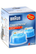 Nettoyant rasoir Braun RECHARGE CCR2 X2