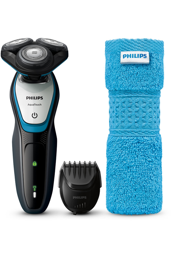 rasoir lectrique philips s5070 65 aquatouch shaver series 5000 4292820 darty. Black Bedroom Furniture Sets. Home Design Ideas
