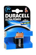 Pile Duracell 9V 6LR61 ULTRA POWER