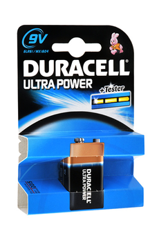Pile 9V 6LR61 ULTRA POWER Duracell