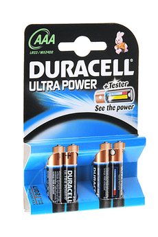 Pile ULTRA POWER AAA LR03 x4 Duracell