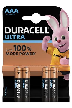 Piles Duracell ULTRA POWER AAA LR03 x4