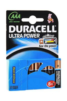 Pile Duracell LR03 AAA x8 ULTRA POWER