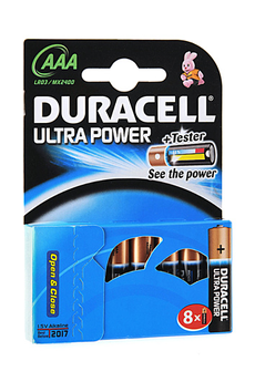 Pile LR03 AAA x8 ULTRA POWER Duracell