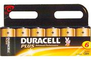 Duracell LR14 X6 PLUS