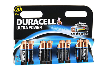 Pile LR06 AA x8 ULTRA POWER Duracell