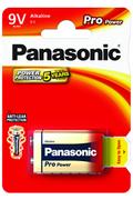 Pile Panasonic 9V 6LR61 PRO POWER