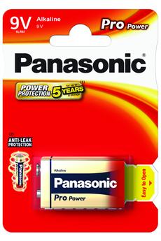 Pile 9V 6LR61 PRO POWER Panasonic