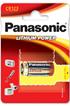 Panasonic CR-123 3V photo 1