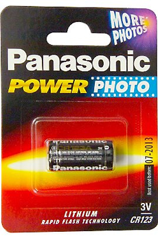 Pile CR-123 3V Panasonic