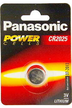 Pile CR2025 Panasonic